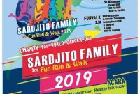 2nd Sardjito Fun Run & Walk 2019 LariKuinfo charity